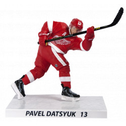 Фигурка Павел Дацюк Детройт в белом - Pavel Datsyuk Detroit Red Wings (22см)