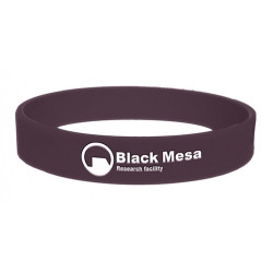 Браслет Half Life - Silicone Wristband Black Mesa Research Facility