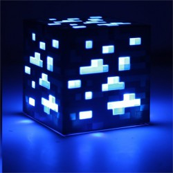 Светильник Minecraft Light-Up Diamond Ore