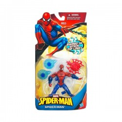 Фигурка Spider-Man Swing or stick Zip Line (15см)