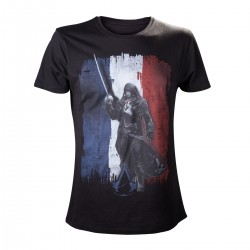 Футболка Assassin's Creed Unity Tricolore Black