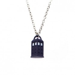 Кулон Doctor Who Tardis with Lobster Clasp Chain