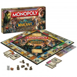 Настольная игра Monopoly: World of Warcraft Collector's Edition