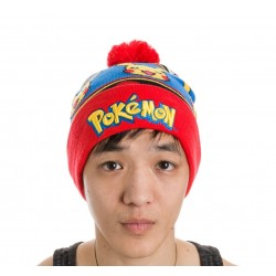 Шапка Pokémon - Logo with Pikachu Beanie
