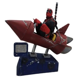 Фигурка Deadpool Rocket Ride Premium Motion Statue