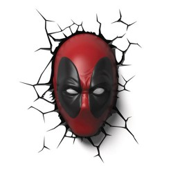 Светильник Marvel Deadpool Mask 3-D Light