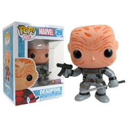 Фигурка Deadpool Maskless Grey Suit Marvel Pop! Vinyl Bobble Head