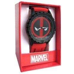 Часы Deadpool Logo Red Rubber Strap Watch