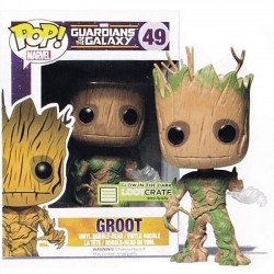 Фигурка POP! The Guardians of the Galaxy Green Groot - Стражи галактики Грут (10см)