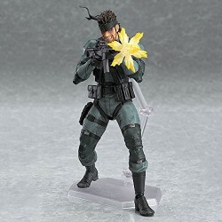 Фигурка Solid Snake Metal Gear Solid 2 PVC