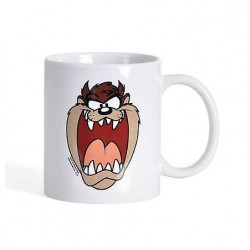 Кружка Looney Tunes White Tazmanian Devil (450мл)