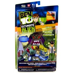 Фигурка Бен 10 - Ultimate Alien Comic Exclusive Ben and Vilgax (10 см)