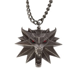Кулон Ведьмак 3 - The Witcher 3 Wild Hunt Medallion with LED Eyes