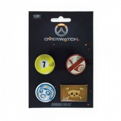 Набор значков Overwatch Pin Set - Roadhog