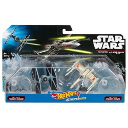 Набор фигурок Star Wars Hots Wheels Starships (6см)