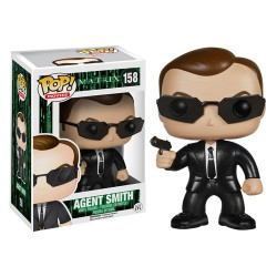 Фигурка POP! Matrix Agent Smith - Матрица Агент Смит (12см)