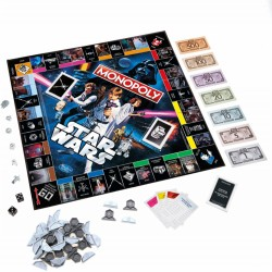 Настольная игра Monopoly: Star Wars Ann Collector's Edition