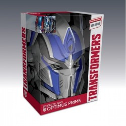 Светильник 3D Tranformers Optimus Prime Mask