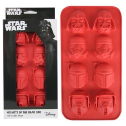 Форма для льда Star Wars Helmets of the Dark Side Ice Cube Tray