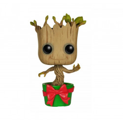 Фигурка POP Guardians of the Galaxy Holiday Dancing Groot Танцующий Грут (12см)