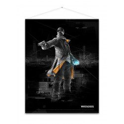 Плакат Watch Dogs Aiden