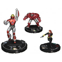 Набор фигурок Heroclix Marvel Classics Iron man and Black Widow