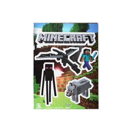 Наклейка Minecraft Mobs Sticker Pack