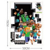Наклейка на стену Minecraft Family Sticker (70 см)