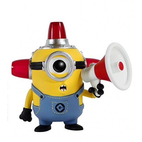 Фигурка Fire Alarm Minion - Миньен пожарник (9см)