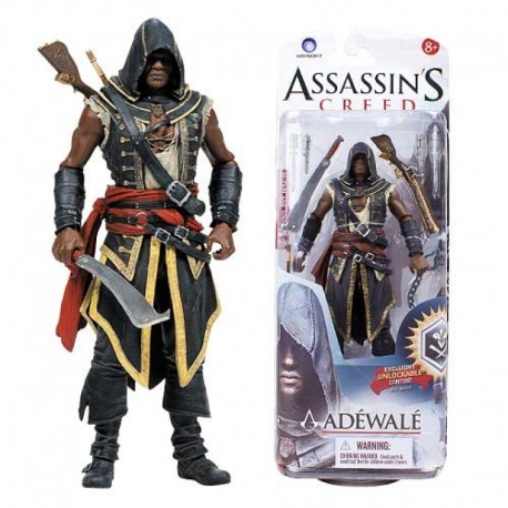 Фигурка Assassin's Creed Assassin's Adewale - Кредо Убийцы Адевале (15 см)