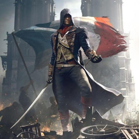 Постер Assassin's Creed Unity - Arno Кредо Убийцы Арно
