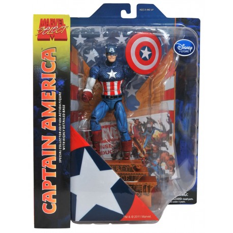 Фигурка Captain America with base - Капитан Америка (25 см)