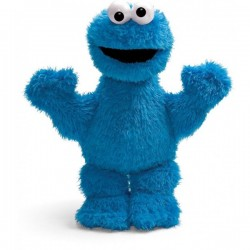 Плюш Коржик Улица Сезам Sesame street Cookie Monster (30см)