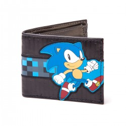 Кошелек Соник - Black. Running Sonic Bifold Wallet