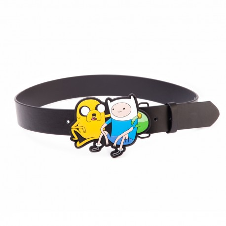 Ремень Adventure Time - Finn & Jake Black Belt