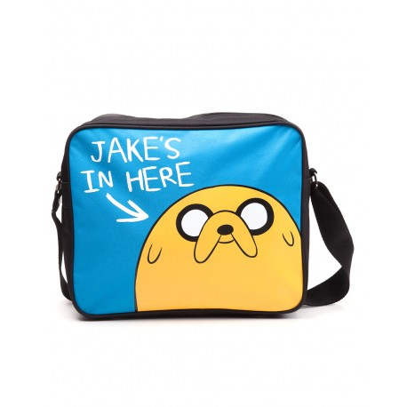 Сумка Adventure Time - Jake's in here Messenger bag
