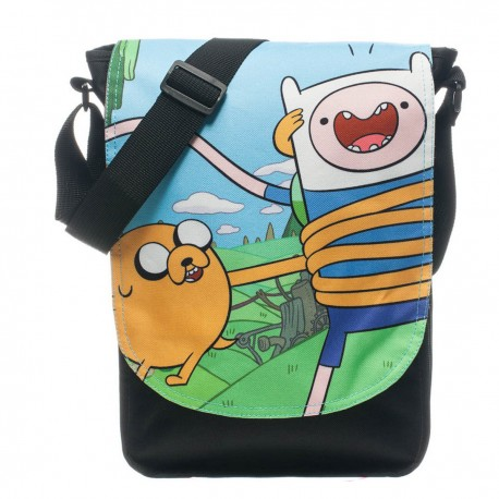 Сумка Adventure Time - Black MB Finn & Jake