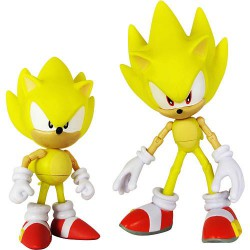 Фигурки Соник Super Sonic Through Time 2в1 (13см)