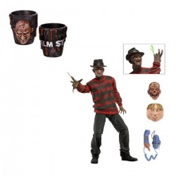 Набор A Nightmare On Elm Street - Freddy Krueger (фигурка + рюмки)