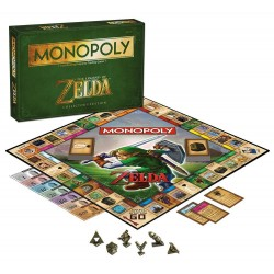 Настольная игра Monopoly: The Legend of Zelda Collector's Edition