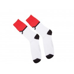 Носки Pokemon - Pokeball Black Socks With All Over Print