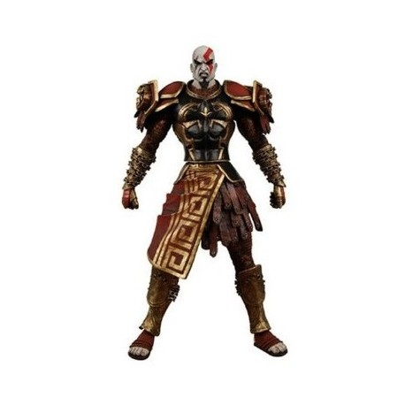 Фигурка God Of War - Kratos In Ares Armor с оскалом (18 см)