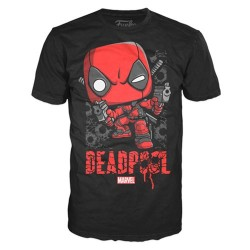 Футболка Deadpool Shots Shattered Pop! T-Shirt