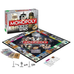 Настольная игра Monopoly: Dr. Who Anniversary Collector's Edition
