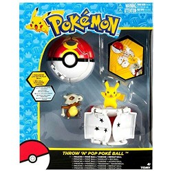 Набор фигурок Pokemon Throw 'n' Pop Pokeball Pikachu & Poke Ball / Cubone & Repeat Ball