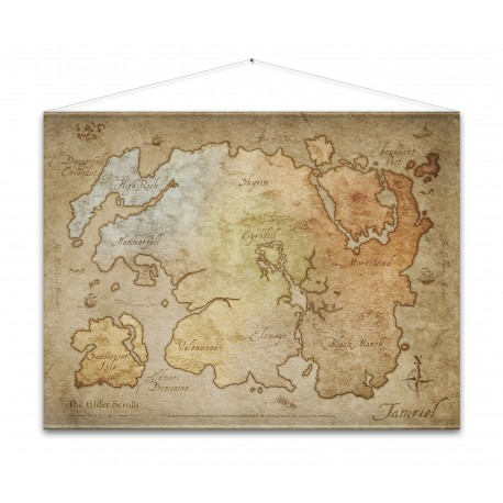Постер The Elder Scrolls Online Wallscroll - Map (100 х 77 см)