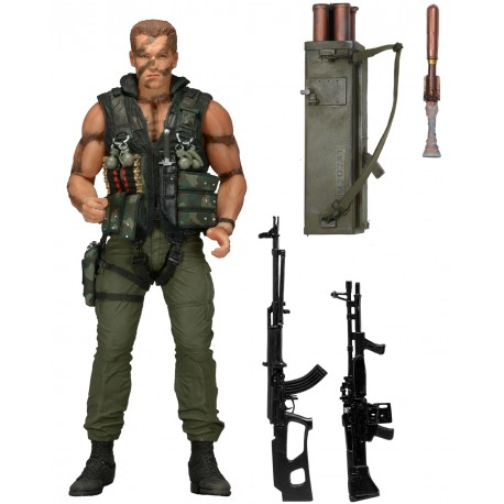 Фигурка Коммандо - Schwarzenegger Commando John Matrix (18см)