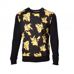 Свитер Покемон - Pokemon Pikachu All Over Print Sweater