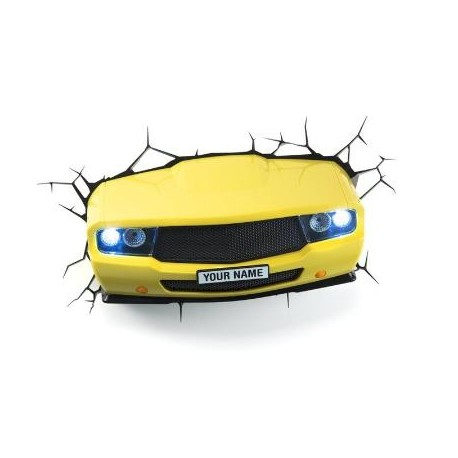 Светильник 3D Muscle Car