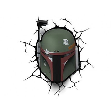 Светильник 3D Star Wars Boba Fett